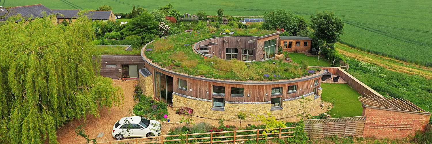 Image of green roofing performed by DF Roofing